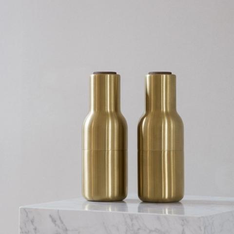 Bilde av Bottle Grinder Brushed Brass,