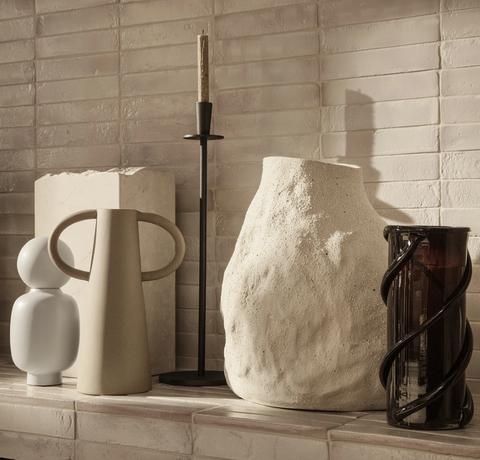 Bilde av Vulca Vase Off White Large