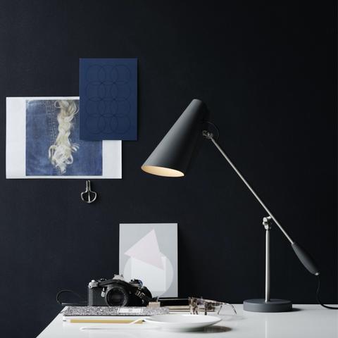 Bilde av Birdy bordlampe Grey